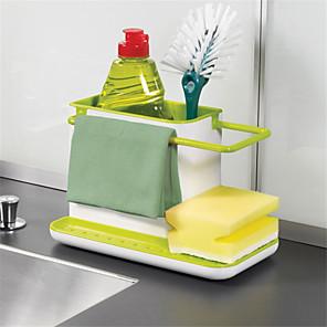 ieftine Organizare Blat & Perete-dulap rack chiuveta burete depozit bucătărie organizator
