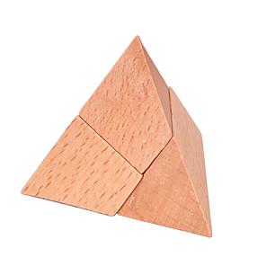 ieftine Puzzle-Puzzle Lemn Jocuri IQ Luban de blocare Test de inteligenta De lemn Unisex Jucarii Cadou