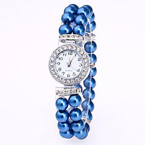 ieftine Ceasuri Brățară-Pentru femei Ceas Brățară Diamond Watch Quartz femei Ceas Casual Alb / Roșu / Pink Analog - Alb Rosu Roz Un an Durată de Viaţă Baterie / Jinli 377