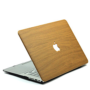 رخيصةأون غلاف ماك بوك اير 13 بوصة-MacBook صندوق خشب بولي كربونات إلى MacBook 12'' / MacBook 13'' / MacBook Air 11''