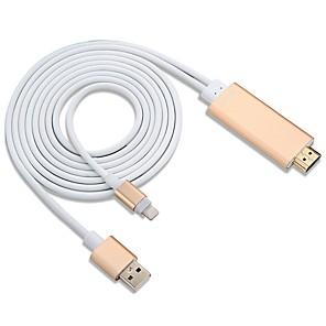 ieftine Conectoare & Terminale-YW-IH01 3 HDMI 2.0 USB 2.0 Bărbați-Bărbați 1080P 2.0M (6.5Ft)