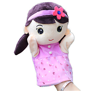 ieftine Păpuși-Păpuși de Degete Girl Doll Încântător Tigru Tactel Pentru copii Jucarii Cadou
