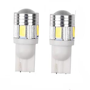Недорогие Фары для мотоциклов-T10 Грузовик / Автомобиль Лампы 3 W SMD 5630 360 lm Лампа поворотного сигнала Назначение Универсальный
