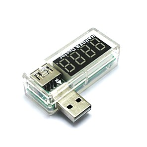ieftine Conectoare & Terminale-USB de încărcare curent / tensiune tester detector USB voltmetru ampermetru poate detecta dispozitivele USB