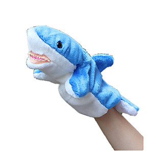 cheap Puppets-Shark Plush Fabric Kid's Girls' Toy Gift