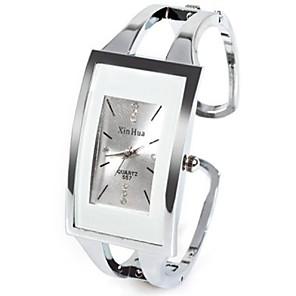 ieftine Cuarț ceasuri-Pentru femei femei Ceas La Modă Unic Creative ceas Piața de ceas Quartz Argint Stras imitație de diamant Analog Casual Atârnat - Alb Un an Durată de Viaţă Baterie / SSUO LR626