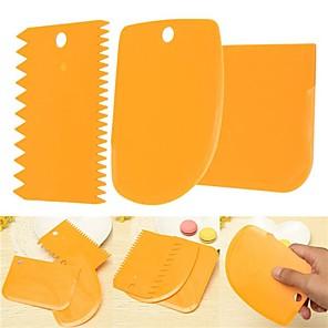 ieftine Ustensile & Gadget-uri de Copt-Noutate Biscuiți Tort Plastic Spatule de copt & Patiserie