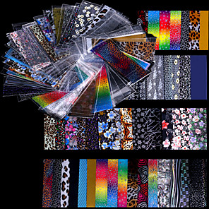 ieftine Îngrijire Unghii-48 pcs Unghii foarfece bandă striping nail art pedichiura si manichiura Modă Zilnic / Foil Stripping Tape