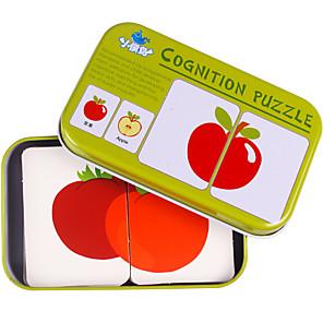 ieftine Carcase iPhone-Carduri Educaționale Puzzle Jucării Educaționale Fruct Fier Pentru copii Jucarii Cadou