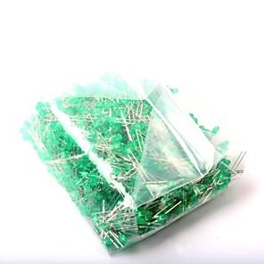 ieftine Diode-Led diode emitere de lumină 3mm lumină verde (1000pcs)