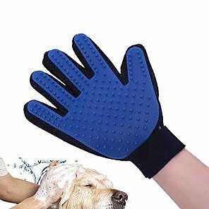 ieftine Becuri De Mașină LED-Câine Seturi de Îngrijire Sănătate Curăţare Silicon Seturi de Îngrijire Perii Băi Impermeabil Portabil Pliabil Animale de Companie  Accesorii de Ingrijire Verde Albastru Roz 1