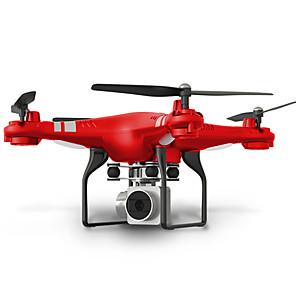 Недорогие Другие радиоуправляемые игрушки-RC Дрон SHR / C HR SH5 10.2 CM 6 Oси 2.4G С HD-камерой 2.0MP 720P Квадкоптер на пульте управления FPV / Светодиодные фонарики / Возврат Oдной Kнопкой Квадкоптер Hа пульте Y / Прямое Yправление