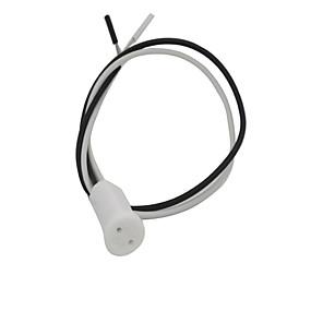 ieftine Conectori-G4 lampă de titularul ceramice Accesorii pentru iluminat Lemn Cablu electric