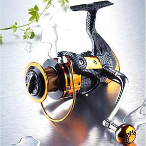 ieftine Role Pescuit-Pescuit Având Reel Role de filare 5.1:1 Raport Transmisie+13 Rulmenti mână Orientare schimbabil Pescuit mare / Pescuit de Apă Dulce / Momeală pescuit - TT4000 / Pescuit în General