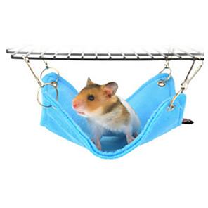 ieftine Accesorii Animale Mici-Rozătoare / Hamster Pluș Paturi Albastru / Roz