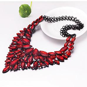 ieftine Colier la Modă-Pentru femei Coliere cu Pandativ Inimă femei Boem Boho Zirconiu Crom Curcubeu Rosu Coliere Bijuterii Pentru Evenimente / Petrecere Zilnice