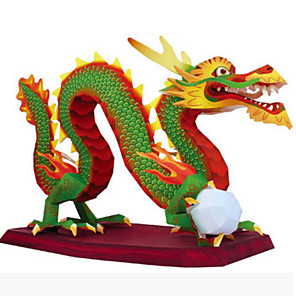 ieftine Lumini de Rulare Zi-Puzzle 3D Lucru Manual Din Hârtie Reparații Articole de mobilier Stil Chinezesc Unisex Jucarii Cadou