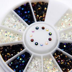 ieftine Îngrijire Unghii-Unghiul de bijuterii Nail Art Design Modă Zilnic