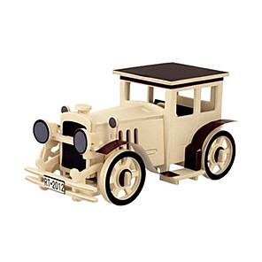 ieftine Conectoare & Terminale-Puzzle 3D Puzzle Lemn Modele de Lemn Aeronavă Mașină #D Reparații De lemn Clasic Unisex Jucarii Cadou