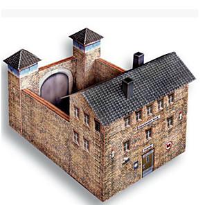 ieftine Afișaje-Puzzle 3D Lucru Manual Din Hârtie Clădire celebru Casă Reparații Hârtie Rigidă pentru Felicitări Pentru copii Unisex Băieți Jucarii Cadou