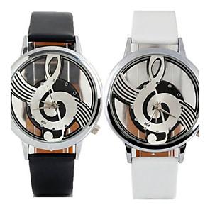 ieftine Ceasuri Damă-Pentru femei femei Ceas de Mână Quartz Piele Negru / Alb Ceas Casual Analog Casual Modă - Alb Negru Un an Durată de Viaţă Baterie / Tianqiu 377