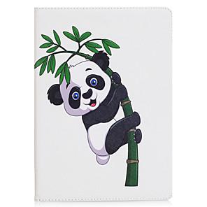 ieftine Carcase iPad-Maska Pentru Apple iPad Mini 5 / iPad nou de aer (2019) / iPad Mini 3/2/1 Origami Carcasă Telefon Fluture / Panda Greu PU piele