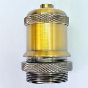 ieftine Baze de Lampe-e27 aur de aur lampă deținător lung fir de iluminat de înaltă calitate accesoriu