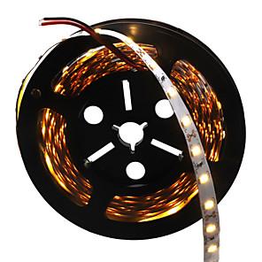 ieftine Benzi Lumină LED-hkv® 5m 5730smd 10mm 300led alb cald cald rece, alb, flexibil, cu bandă de bare cu lumină led, impermeabilă, decorare interioară