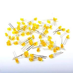 ieftine Diode-Led lumina diodă de lumină 3mm galben (1000pcs)