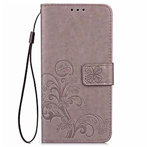 ieftine Ustensile & Gadget-uri de Copt-Maska Pentru Asus ZenFone Max ZC550KL / Sony Sony Xperia XZ Premium / Sony Xperia XA1 Ultra / Sony Xperia XA1 Portofel / Titluar Card / Cu Stand Carcasă Telefon Mată Greu PU piele
