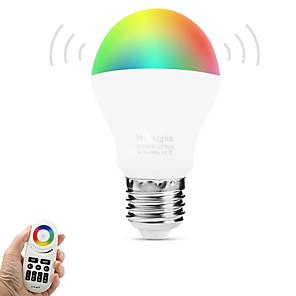 ieftine Becuri LED Corn-breung 1 buc 6w e27 becuri inteligente a60 (a19) wifi senzor infraroșu control lumină stroboscop controlat la distanță rgb alb cald