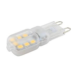 ieftine Becuri LED Bi-pin-1pc 1.5w mini g9 lumina reflectoarelor 14 smd 2835 pentru lumina de perete cald / rece alb ac 220v - 240v