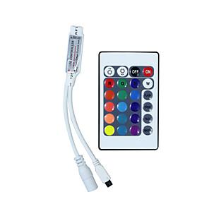 ieftine Conectori-hkv® mini 24 chei rgb ir controler de la distanță rgb controler de bandă led controler mic rgb
