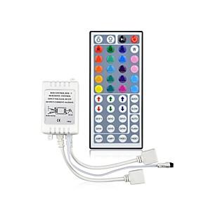 ieftine Manete RGB-44 taste dc12v conector dublu ieșire infraroșu control de la distanță rgb lampă controler 10 metri 3528 2835 5050 lumină stralucitoare led lumină bandă inclusă