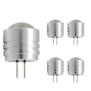 ieftine LED-uri-5 buc 1.5w aluminiu condus bec bec mini g4 bi-pin bază dc 12v rece alb cald alb