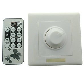 cheap Switches & Sockets-1pc Dimmable / Light Control Dimmer Switch Indoor
