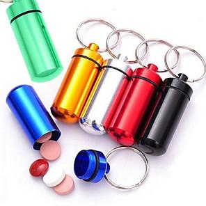 ieftine Produse de curățat-6pc noutate mini capsulă în formă de cutie de sticlă titular container de depozitare bucătărie keychain