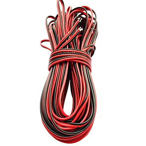 ieftine LED-uri-5m led linie de cablu prelungire cablu pentru smd 8mm 3528 10mm 5050 5630 unică culoare 2pin impermeabil condus benzi lumina cablu conector