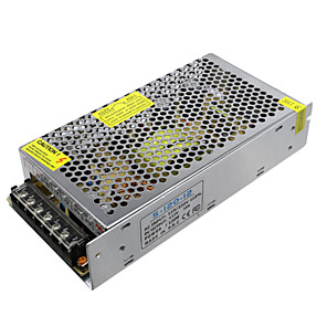 זול ממיר מתח-hkv ® dc12v 10a 120w מתאם מתח ac100-265v כדי dc 12v מטען חשמל ציוד תאורה שנאים מתאם ספק כוח עבור רצועת LED אור