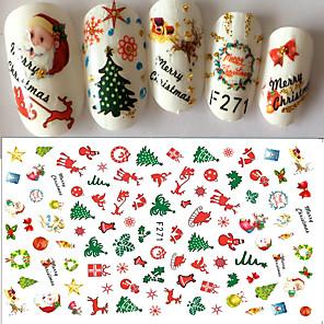 ieftine Îngrijire Unghii-1 pcs Autocolante & Benzi Decals pentru unghii Nail Art Design
