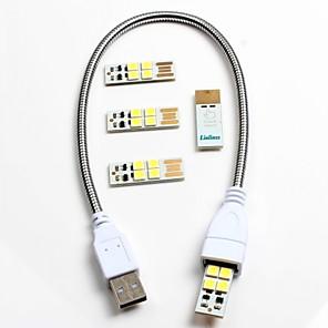 ieftine Întrerupătoare-1pcs usb furtun 4pcs computer usb cu lampă de atingere comutator mobil de putere usb lampă de noapte lampă de noapte lampă de lectură de