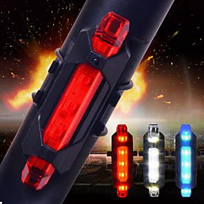 ieftine Lumini de Bicicletă-LED Lumini de Bicicletă Iluminat Bicicletă Spate lumini de securitate - Ciclism montan Bicicletă Ciclism Rezistent la apă Moduri multiple Foarte luminos Portabil Alte Baterii Cell 15 lm USD Baterie