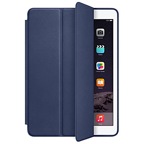 povoljno iPhone futrole/maske-Θήκη Za Apple iPad Air / iPad 4/3/2 / iPad Mini 3/2/1 Otporno na trešnju / Auto Sleep / Wake Up Korice Jednobojni Tvrdo PU koža / iPad Pro 10.5 / iPad 9.7 (2017)