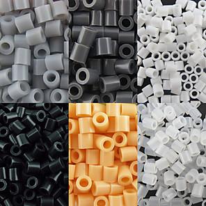 cheap Beads & Beading-Approx 500PCS/Bag 5MM Fuse Beads Hama Beads DIY Jigsaw EVA Material Safty for Kids(Assorted 6 Color,B44-B50)