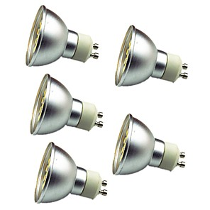 ieftine Spoturi LED-5pcs 3 W Spoturi LED 280 lm GU10 30 LED-uri de margele SMD 5050 Decorativ Alb Cald Alb Rece 12 V / 5 bc