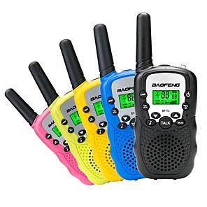 ieftine Walkie Talkies-BAOFENG Portabil  VOX / Encripție / CTCSS / CDCSS 3KM - 5KM 3KM - 5KM Statie emisie-receptie Radio cu două căi