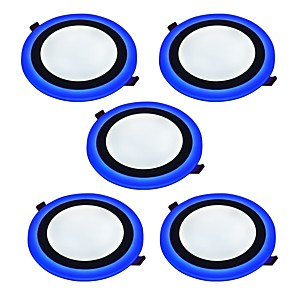 ieftine Fâșii Becurie LED-JIAWEN 6 W 2835 LED-uri de margele Decorativ Lumini Panel Alb Natural Albastru 85-265 V / 5 bc