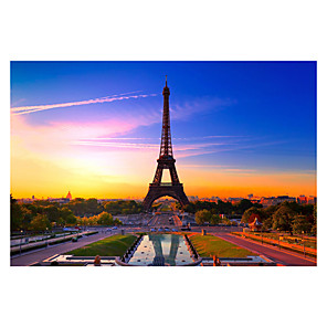 ieftine Puzzle-1000 pcs Clădire celebru turnul Eiffel Puzzle Puzzle pentru adulți Jumbo De lemn Adulți Jucarii Cadou
