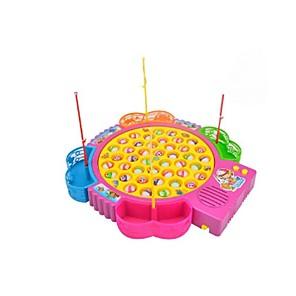 ieftine Brățări-Jucarii de pescuit Jucărie muzicală Jucărie pentru pescuit rotativ Pești Electric 4 jucători Plastice Pentru copii Jucarii Cadou 1 pcs