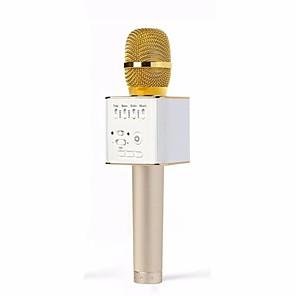 ieftine Microfoane-originalul brandului q9 microfon fără fir profesionist magic karaoke player mini bluetooth difuzor pentru telefonul karaoke iphone android